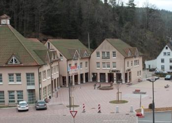 Der Lauterbacher Rathausplatz. Foto: pm