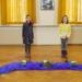 Corona konformes Singen der Mädchenkatorei für eine Web-Osterandacht. Foto:pm