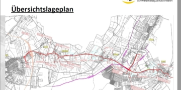 Es gibt schon recht detailliertte Pläne für den Radweg Sulgen- Mariazell. Grafiken: Stadt Schramberg