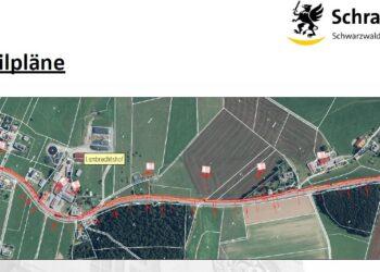Die Pläne für eine Radwegverbindung von Sulgen  nach Mariazell sind schon weitgehend fertig. Grafik: Stadt Schramberg