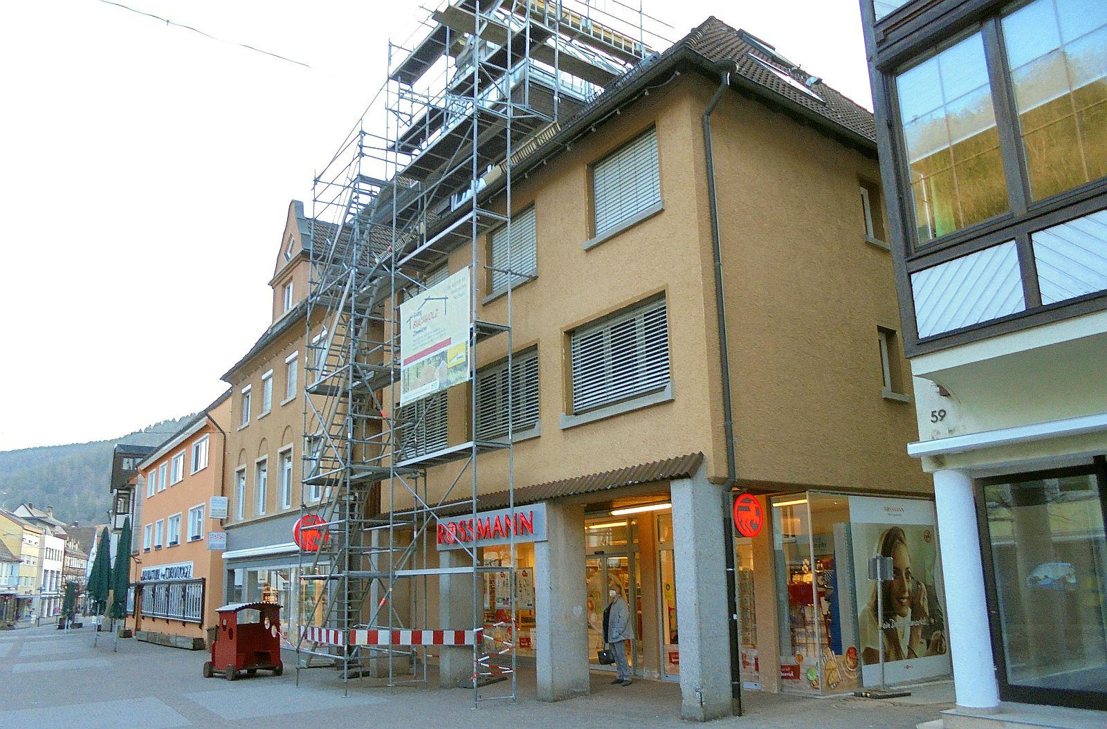 Bald gehen auch hier die Lichter aus: Rossmann-Filiale in Schramberg. Foto: him