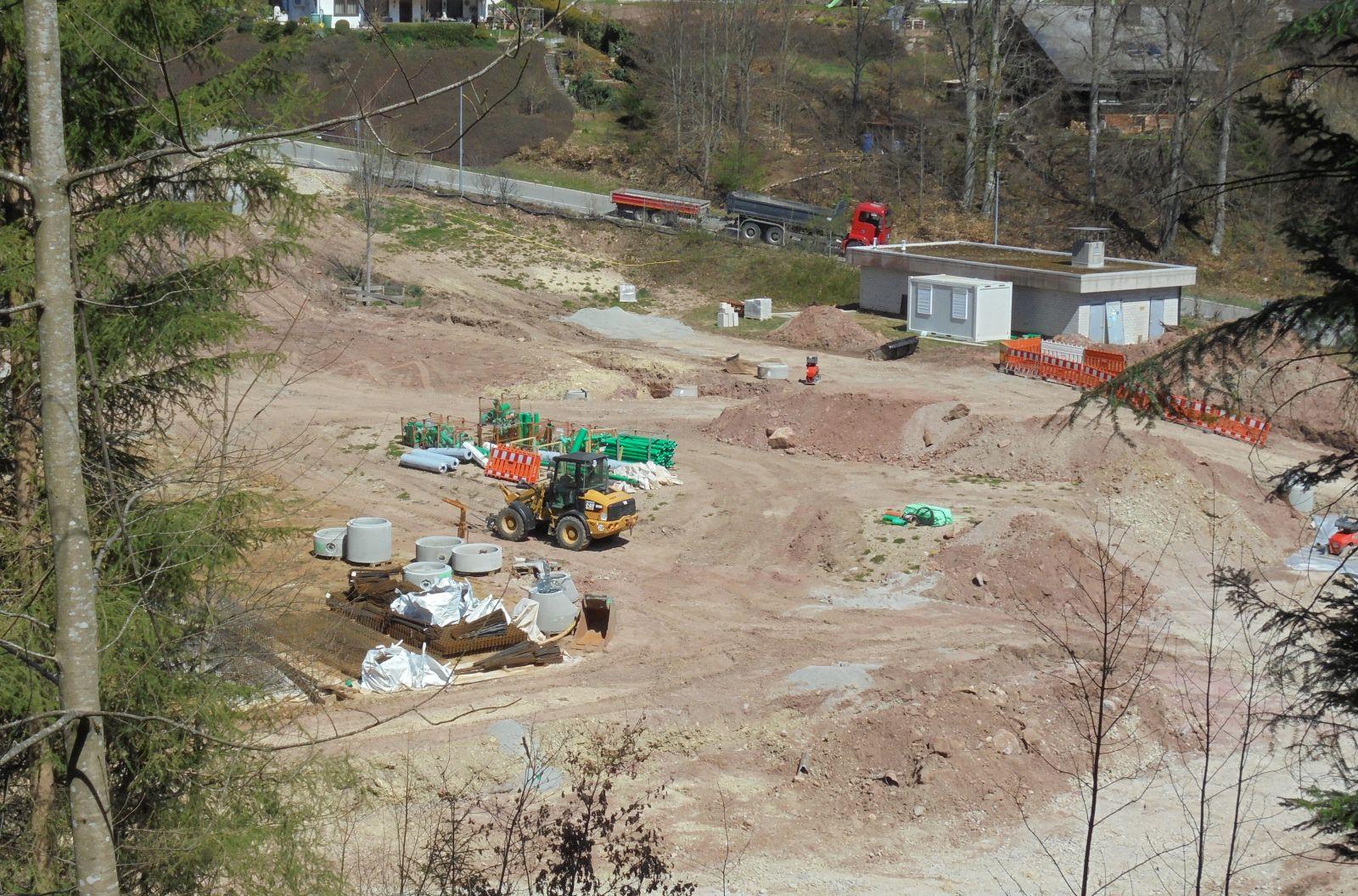 Die Modernisierungsarbeiten am Tennenbronner Freibad gehen weiter. Foto: him