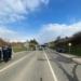 Schwerer Unfall auf der B 523. Foto: Blaulichtreport Rottweil