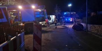 Feuerwehreinsatz in Deißlingen. Foto: Blaulichtreport Rottweil