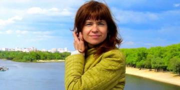 """Maryia T., die sich als Ehrenamtliche im Menschenrechtszentrum """"Visna"""" engagierte und dort verhaftet wurde.Foto: pm"""