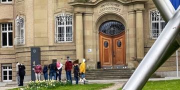 Protest vor dem Rottweiler Amtsgericht. Foto: privat