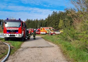 Feuerwehreinsatz in Tennenbronn. Foto: Blaulichtreport Rottweil