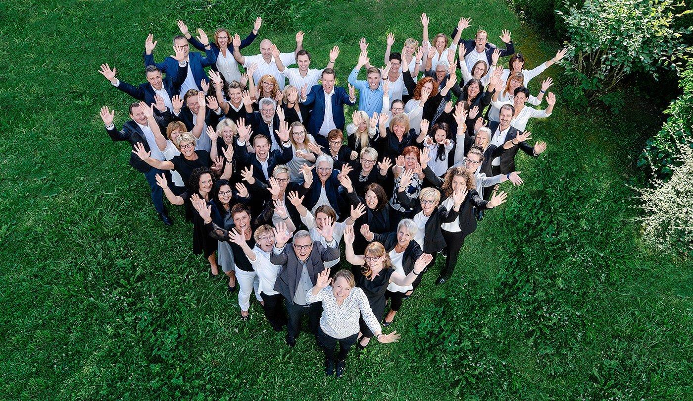 Viel Grund zur Freude: WSS ist in 3 Kategorien ausgezeichnet worden: Beste Arbeitgeber Baden-Württemberg Platz 1, Beste Arbeitgeber Deutschland Platz 7, Beste Arbeitgeber Consulting Platz 2. Foto: pm