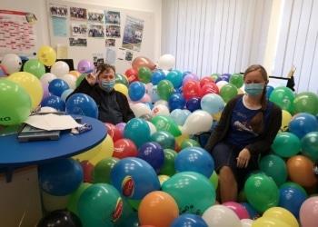 Wurden heute schon von den Kollegen gefeiert: Kropp-Kurta und Remisch. Foto: pm