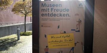 """""""Digital weiterhin für Sie da"""" – dieses Versprechen löst das Dominikanermuseum ein. Foto: al"""