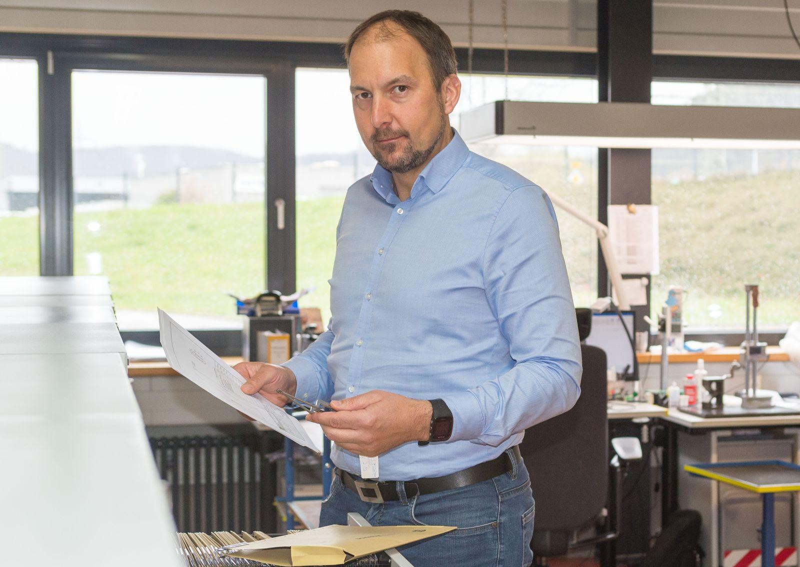 Thomas Butsch, Geschäftsführer der HEBUmedical in Tuttlingen. Foto: MedicalMountains
