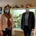 BU: Annette Reif, Bundestagskandidatin der Grünen, besuchte jetzt Deißlingens Bürgermeister Ralf Ulbrich. Foto: pm