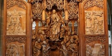 Der Riemneschneider-Altar in Creglingen. Foto: privat