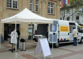 Das Schramberger Testmobil bietet weitere Termine an. Foto: him