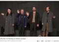 Teils über 100 Zuseher verfolgten die Livestream-Aufführung des Zimmertheaters.  Screenshot: al