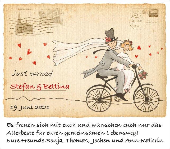 H002 - Hochzeitsanzeige