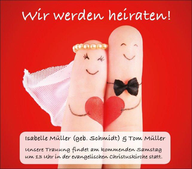H004 - Hochzeitsanzeige
