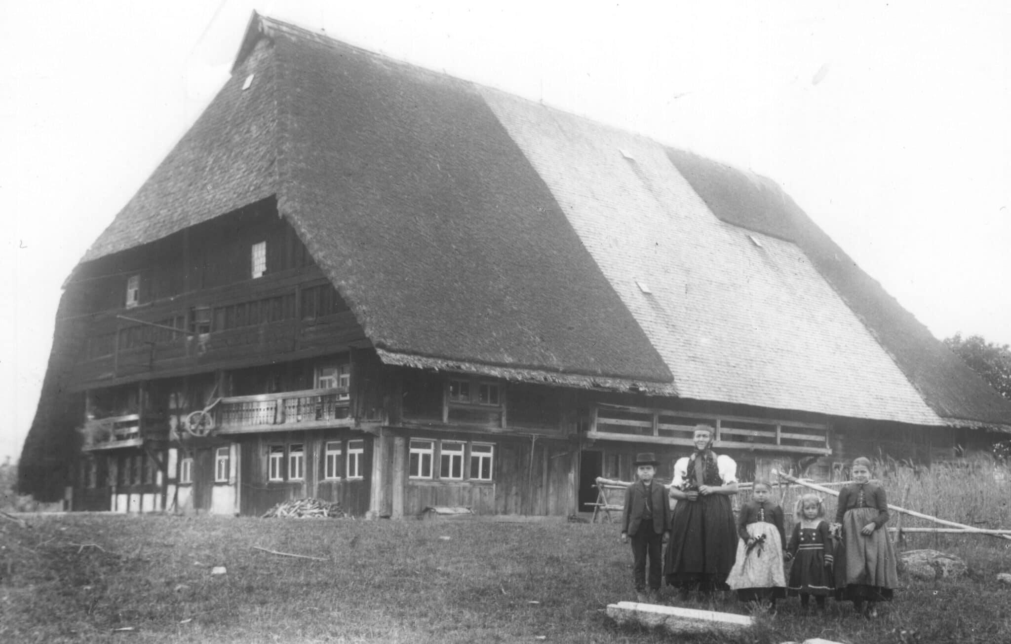 Auch der Hubjockelhof gehörte früher zu Langenschiltach und gehört erst durch den Höfetausch von 1836 zu Tennenbronn. Foto: Heimathaus