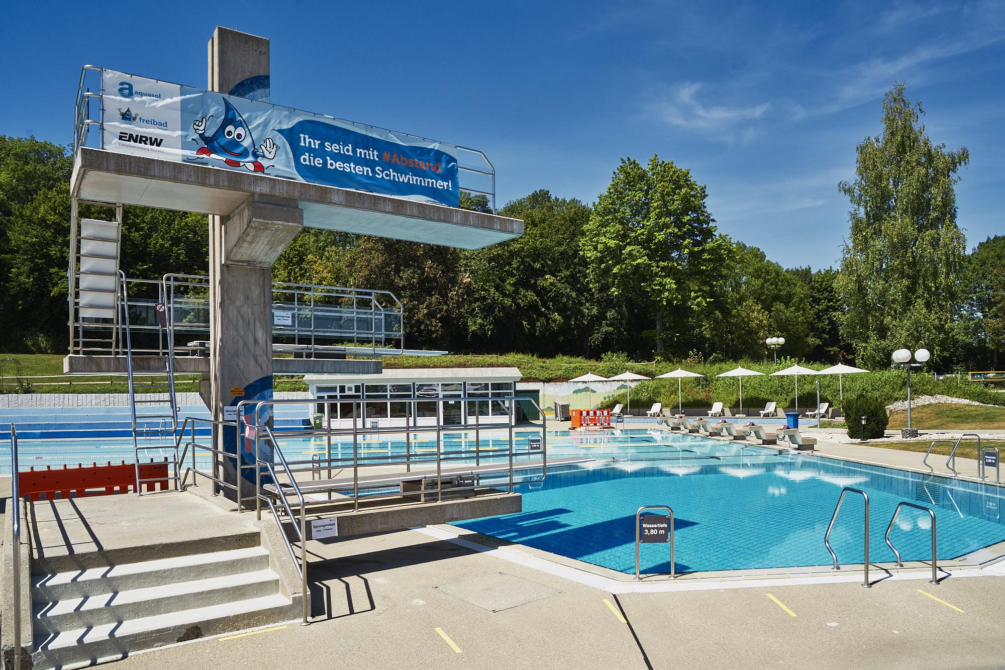 Das Rottweiler Freibad öffnet am 8. Juni 2021. Foto: pm