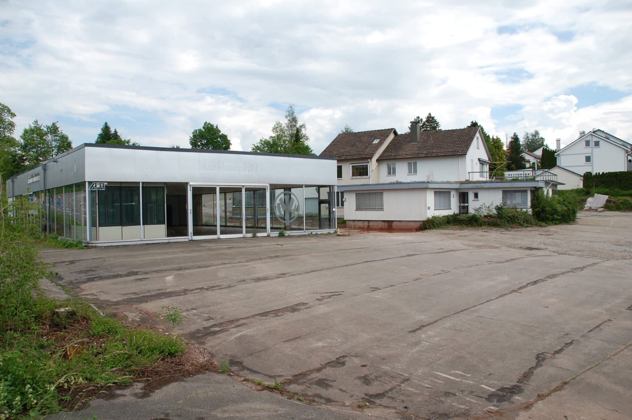 Der Discounter Aldi Süd plant auf dem Gelände des ehemaligen Autohaus Hils eine Filiale in Sulgen. Alle Fotos: lm