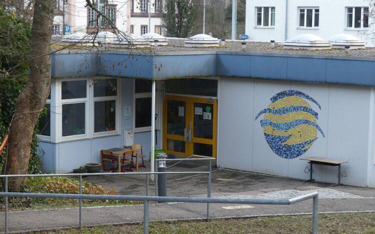 Der Don Bosco Kindergarten bekommt einen Neubau. Die Kosten hierfür explodieren. Doch neue Kindergartenplätze werden dringend gebraucht. Archiv-Foto: him