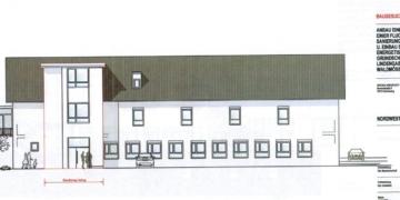 So soll die sanierte Grundschule künftig aussehen. Grafiken: Stadt Schramberg/Architekt Bihlmaier