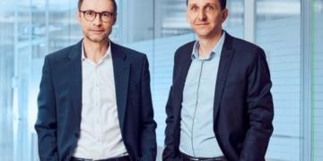 Marc Bunz und Nicolas Schweizer (von links). Foto: aus dem Geschäftsbericht des Unternehmens.