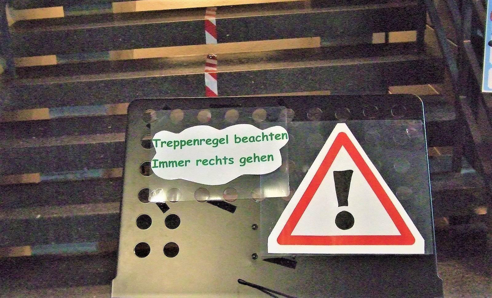 Regeln in der Tennenbronner Grundschule. Foto: him