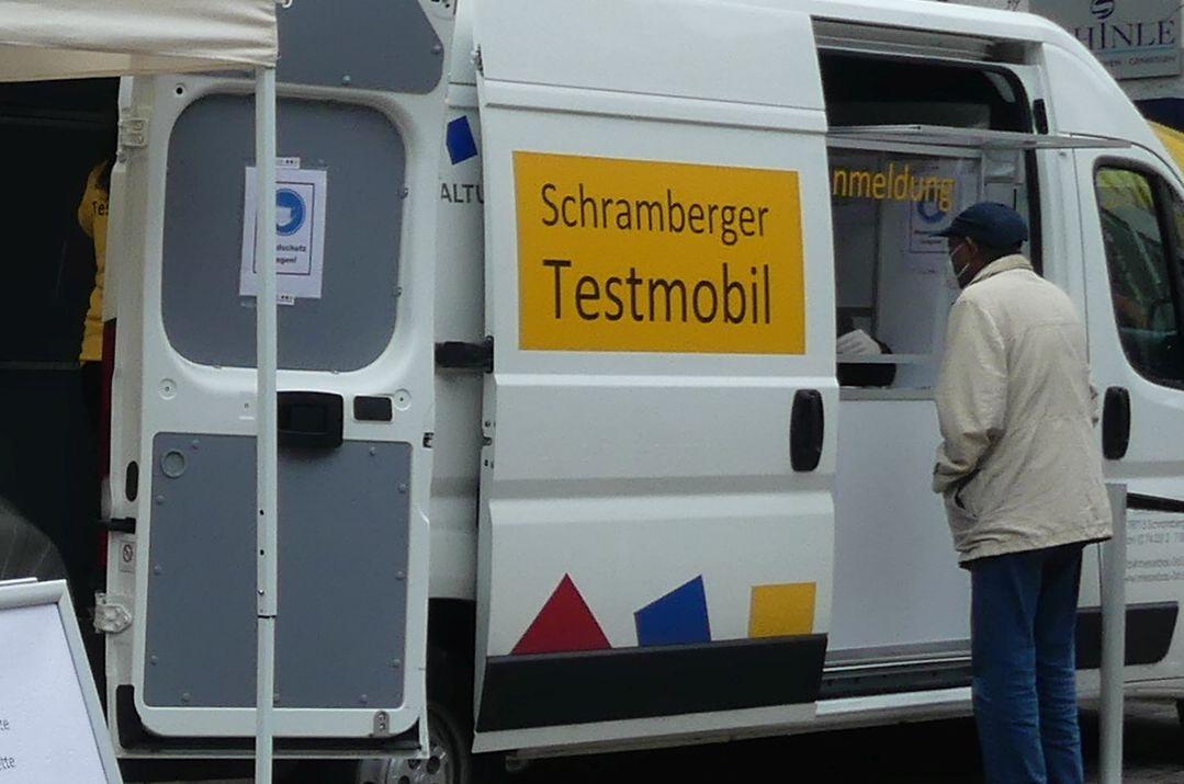 Testmobil der Firma 3D in Schramberg. Archiv-Foto: him