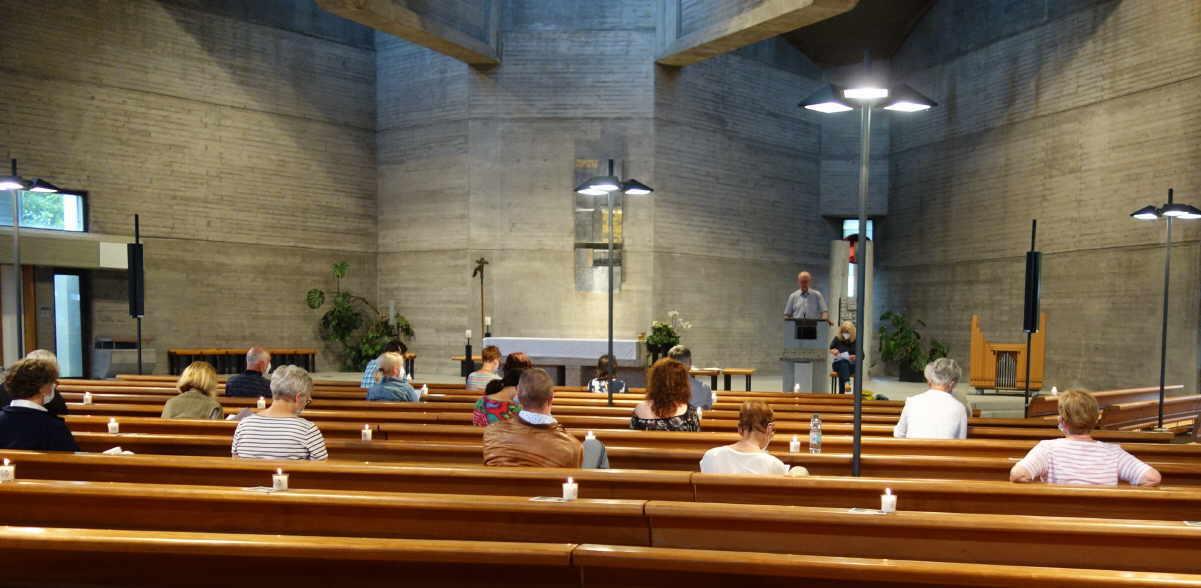 Die diesjährige Mitgliederversammlung der Katholischen Erwachsenenbildung Kreis Rottweil fand in der Auferstehung-Christi-Kirche in Rottweil statt. Foto: pm