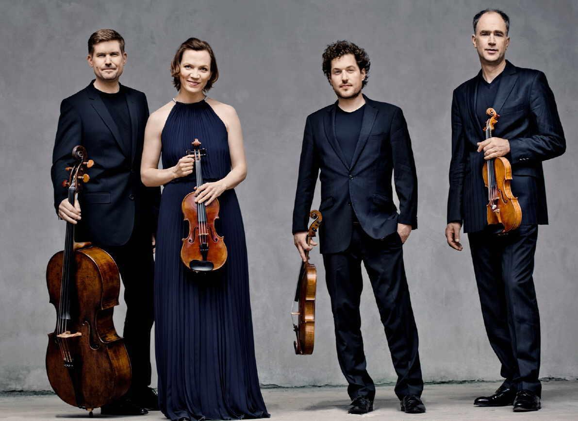 Das Signum Quartett des Intendanten Florian Donderer. Foto: Irène Zandel
