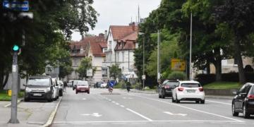 Königstraße: Hier soll laut Plan künftig Tempo 40 gelten.