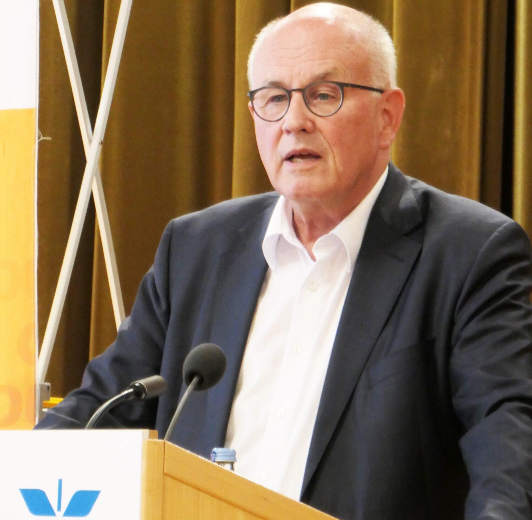Noch-MdB Volker Kauder bei der CDU. Foto: pm