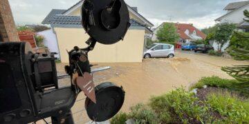 Das Haus in Rümmingen bei Lörrach des gebürtigen Schramberger Marc Bornschein ist stark von der Überschwemmung getroffen. Bornschein plädiert für besseren Hochwasserschutz auch abseits von Flussläufen. Foto: privat