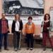 Annette Reif (zweite von links) mit Reinhard Günter, Monika Kaltenbacher und Sonja Rajsp (von links). Foto: pm