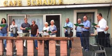 Auftritt einer Abordnung des Münsterchors. Foto: pm