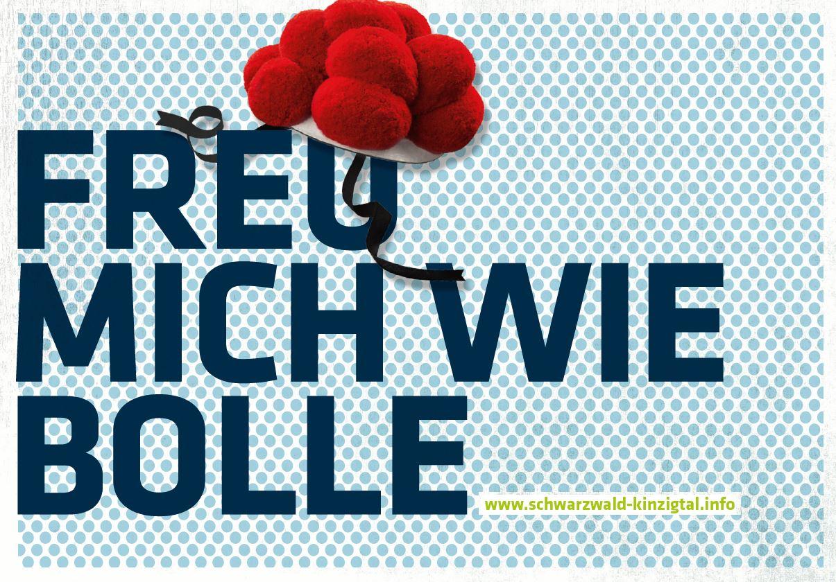 Werbekarte der SchwarzwaldTourismus Kinzigtal.