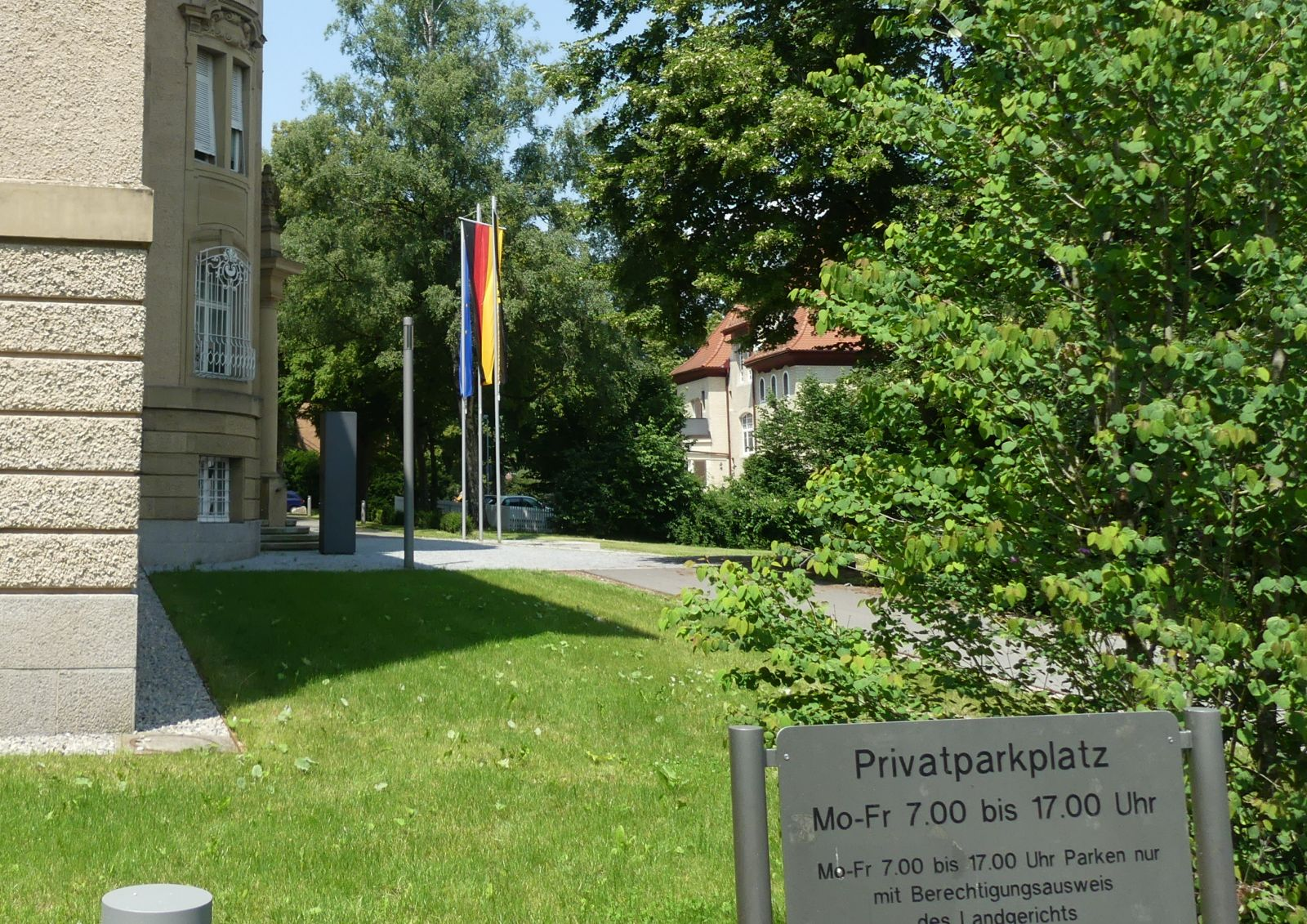 Landgericht Rottweil. Fotos: him