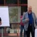 BU: Projektkoordinatorin Sonja Rajsp und Bürgermeister Norbert Swoboda stellen die neun Projektgruppen vor. Foto: pm