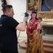"""Mit einem Spezielverfahren wurde die """"Madonna von der Augenwende"""" am Freitag optisch abgetastet. Foto: privat"""