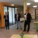 Rückblick vvom Bürgermeister (von links):   Mathias und Elke Neumayer, Sandra Leps, Ralf Schuh, Bürgermeister Michael Lehrer und Mathias Ketterer Fotos: him