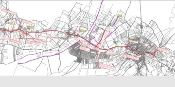 Übersichtsplan für den neuen Radweg. Grafik: Stadt Schramberg