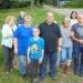 Die SPD-Wandergruppe beim Naturfreundehaus Sommerecke. Foto: pm