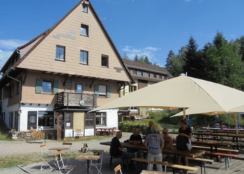 Wanderziel Naturfreundehaus Sommerecke. Archiv-Foto: him