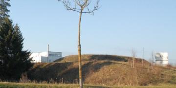 Das Tierkrematorium von der Umgehungsstraße aus gesehen. Archiv-Foto: him