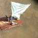"""Beim KiJu-Sommerferienprogramm kann man sein eigenes """"Traumschiff"""" basteln und dann auf Seetüchtigkeit testen. Foto: KiJu"""