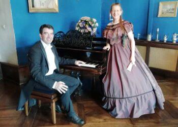 Cristina Haigis und Peter Hasted sind am Sonntag in Trossingen. Foto: Cristina Haigis