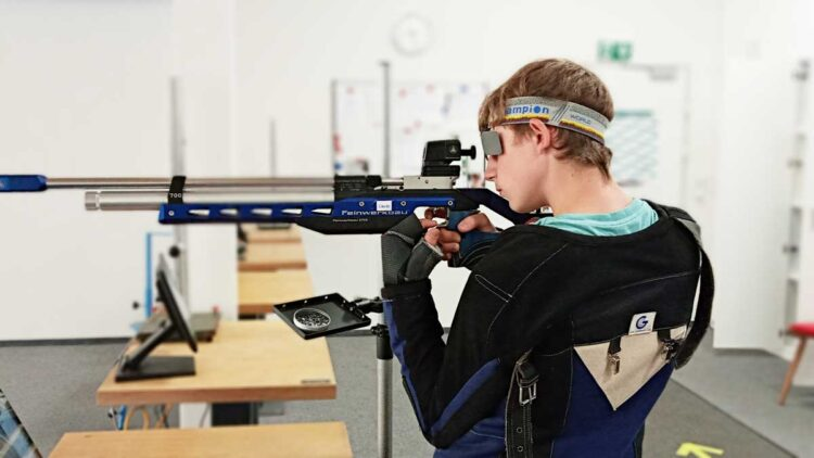 Laurin Hartung aus Schramberg belegt bei den Junioren II den zweiten Platz. Foto: Franziska Hettich