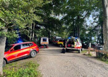 Einsatz am Dreifaltigkeitsberg. Foto: Feuerwehr Spaichingen
