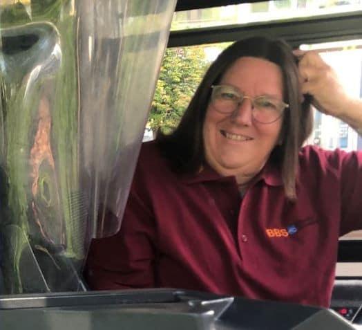 Neue BBS-Fahrerin Petra Schmälter. Foto: olo